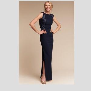 NWT BHLDN Aidan Mattox Metropolitan Dress Twilight